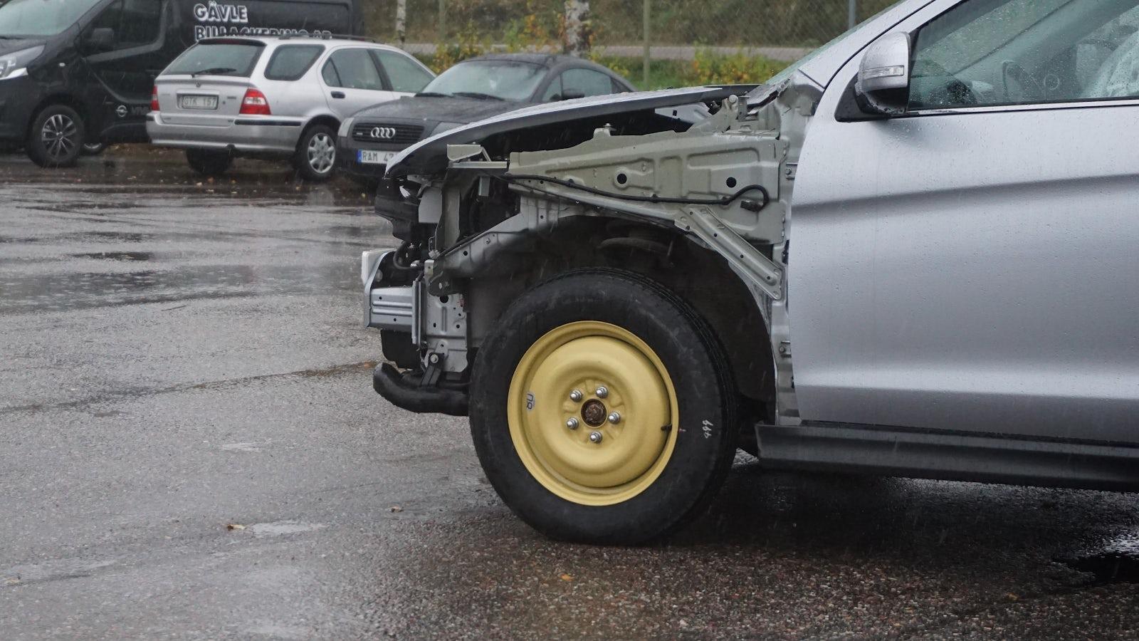 Ett nödhjul.