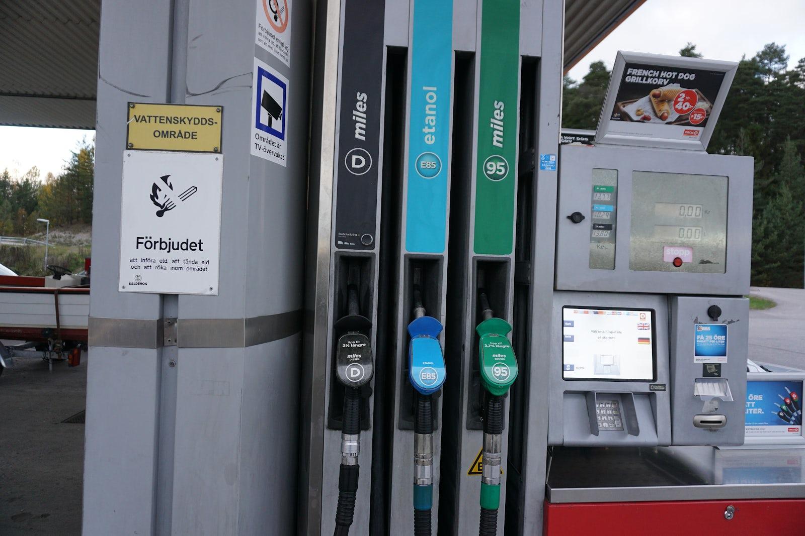 Bränslen, drivmedel och miljökrav