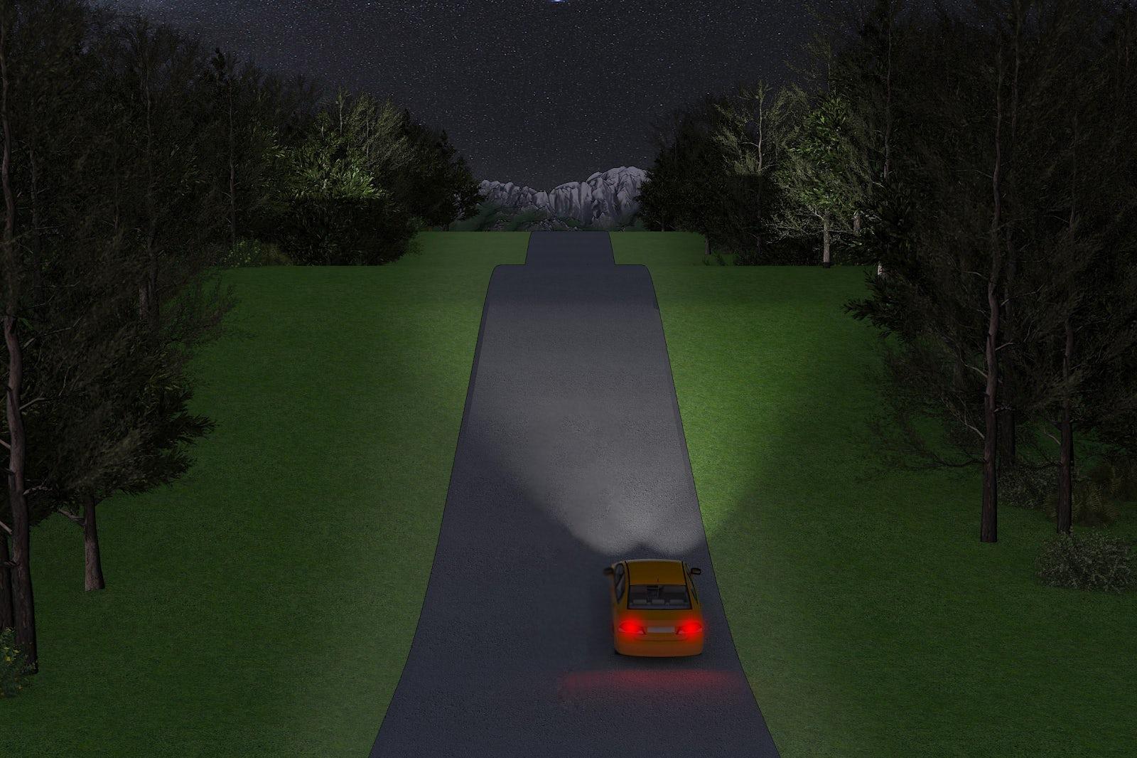 Bilens belysning