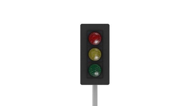 Trasigt trafikljus