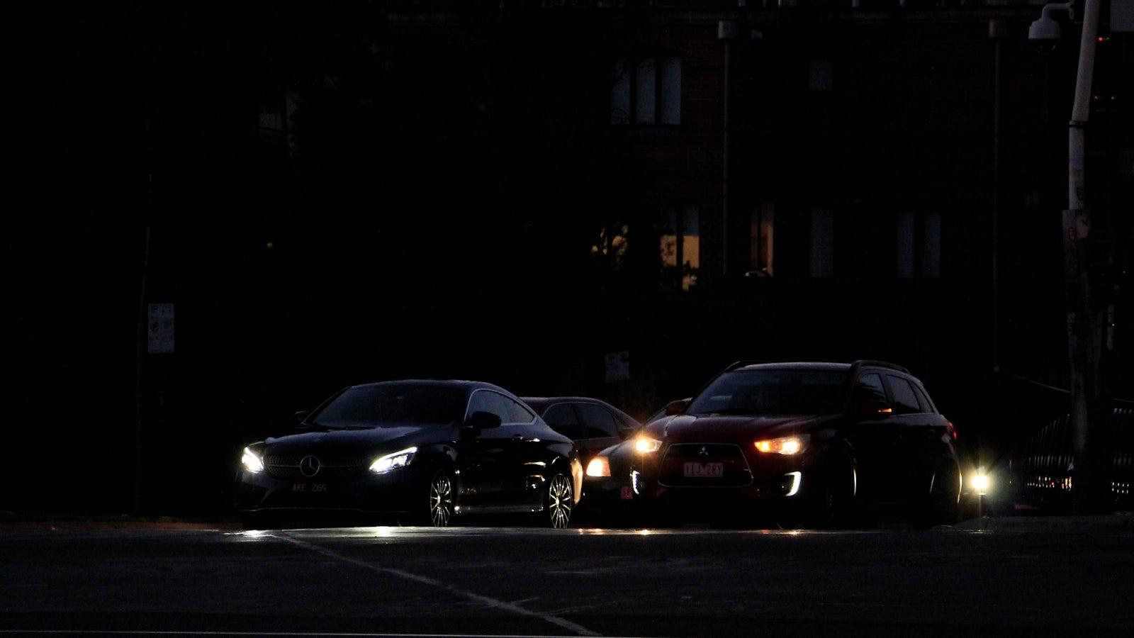 Use of car lights