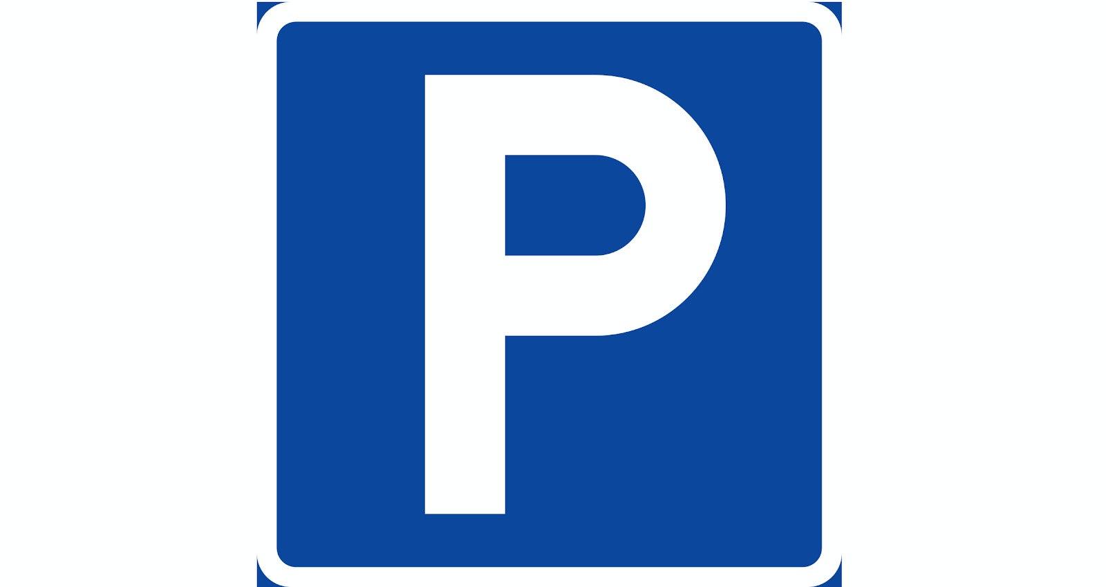 En p-skylt